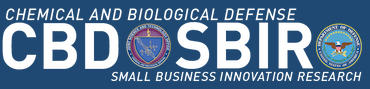Chemical and Biological Defense Program Small Business Innovation Research Logo